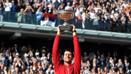 Djokovic cumpre o sonho e fecha em Roland Garros o Grand Slam de carreira