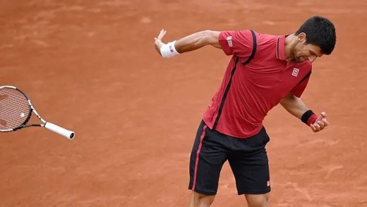 [Vídeo] Djokovic escapou por pouco a possível desqualificação em Roland Garros