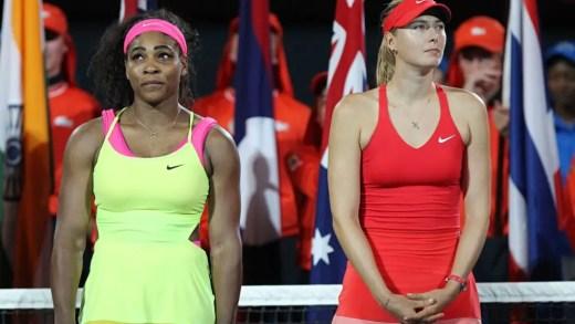 Serena Williams e Maria Sharapova juntas… no cinema