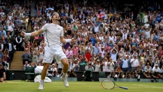 As reações ao título de Murray em Wimbledon