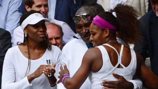 Pai das irmãs Williams sofreu AVC durante Wimbledon