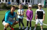 Marcus Willis, o herói de Wimbledon, já voltou ao seu clube e… às aulas de ténis