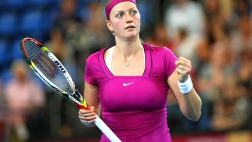 É praticamente certa a participação de Petra Kvitova em Wimbledon