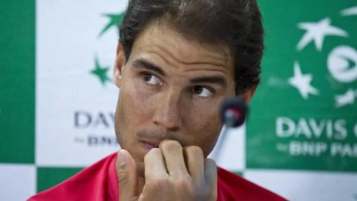 Rafael Nadal altera planos e não joga a Taça Davis neste fim-de-semana