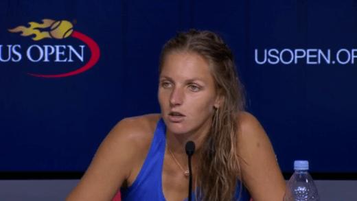 Pliskova diz-se orgulhosa e destaca dificuldade extra: «É sempre difícil jogar contra canhotas»