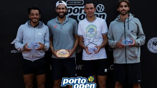 Fred Gil sorri no Porto Open e conquista sétimo título de pares do ano