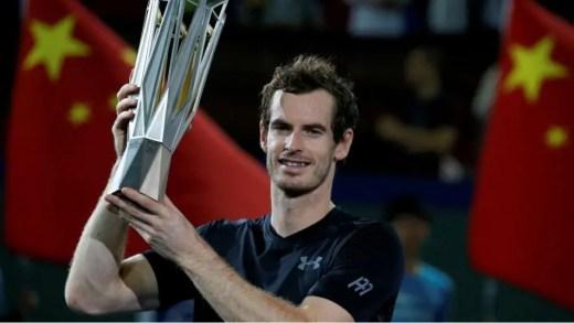 Murray conquista título em Xangai e chega-se ainda mais a Djokovic