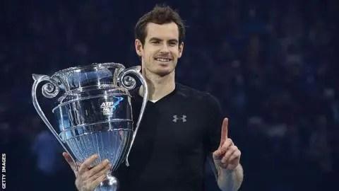 Andy Murray é o 17º número um de final de ano