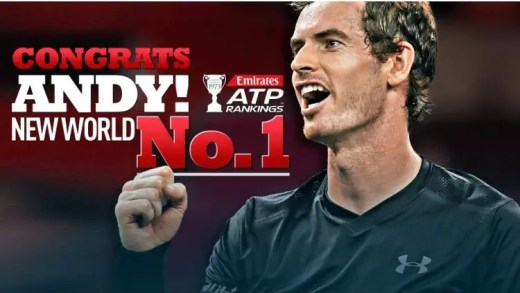 Os 26 números um mundiais do ténis masculino
