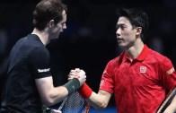 Murray despacha Wawrinka e leva Nishikori consigo para as meias-finais
