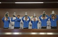 Campeões da Taça Davis recebidos em euforia na Argentina