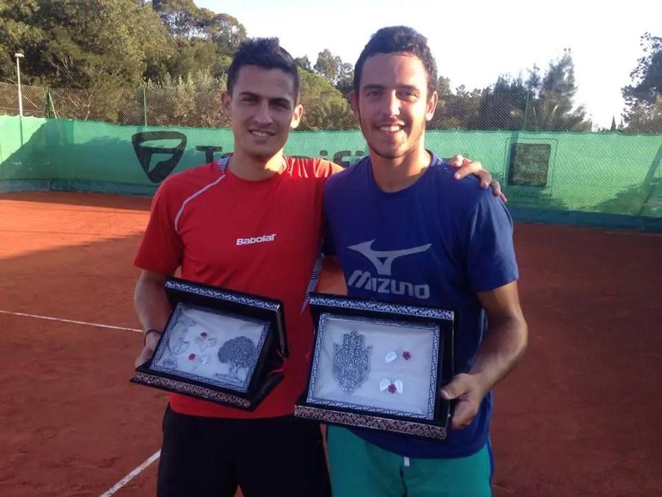 CAMPEÃO. Gonçalo Oliveira fecha dia perfeito com título de pares na Tunísia