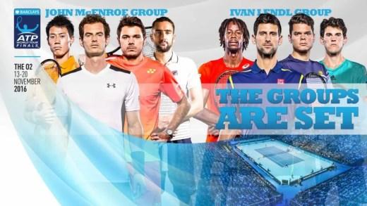 ATP Finals. A ordem de encontros para segunda-feira