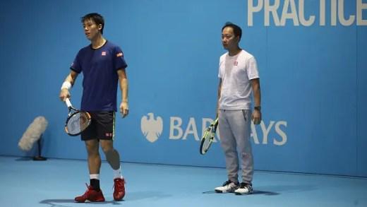 A curiosa forma como Michael Chang decidiu motivar Kei Nishikori