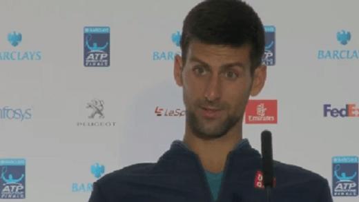 Agora em vídeo: o momento em que Djokovic se irritou com jornalista