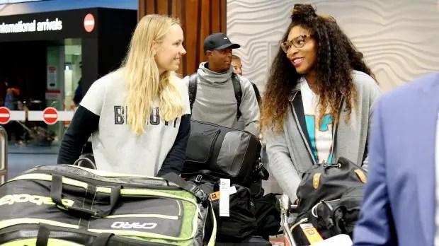 Serena explica quem é a 'culpada' por ir pela 1ª vez a Auckland