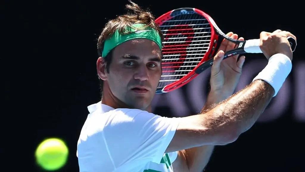 Federer veste-se de verde para o Open da Austrália 2017