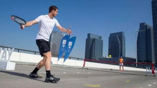 [Com fotos] Nadal e Murray param o trânsito em Abu Dhabi