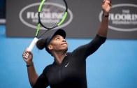 Serena Williams pode voltar logo na primeira semana de 2018