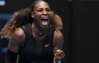 Serena Williams não perde tempo e está nos oitavos-de-final do Open da Austrália