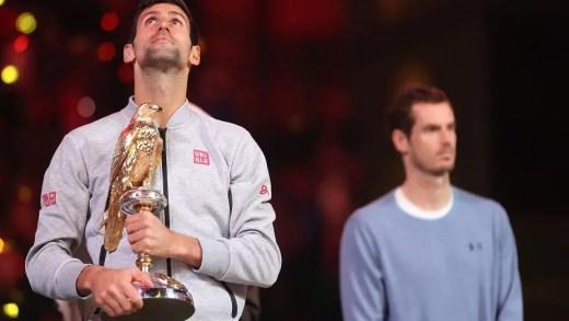 Djokovic coloca ponto final na série de 28 vitórias seguidas de Murray e reconquista Doha