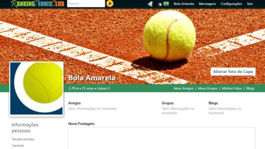 Atenção: se está à procura de um parceiro para derrotar no ténis, este site é para si