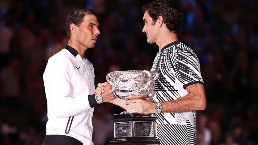 Federer-Nadal na final do Australian Open foi o encontro de ténis mais visto de sempre no Eurosport