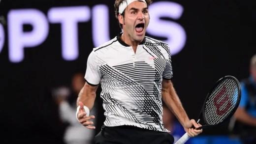 Federer resiste a Wawrinka e chega à sexta final do Australian Open