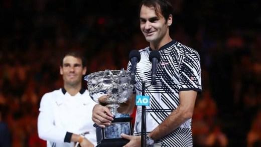 Twitter rendido ao duelo Fedal e ao 18º Grand Slam de Roger Federer
