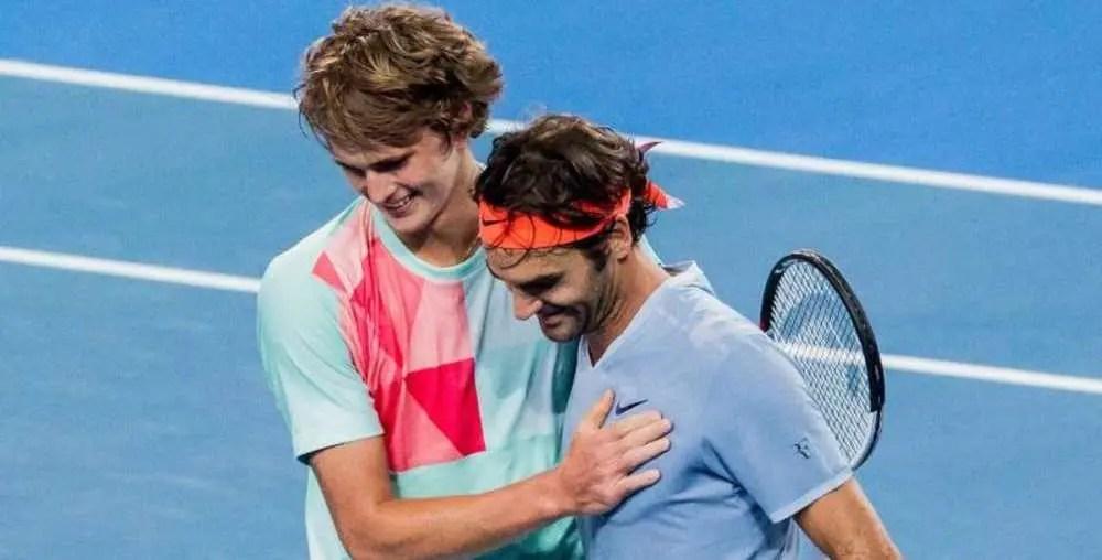 Zverev sobre Federer: «A movimentação, o jogo de pés e o movimento de pulso são do melhor que o ténis já viu»