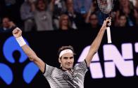 Federer dispara 65 winners em 92 minutos e está de regresso às meias-finais em Melbourne