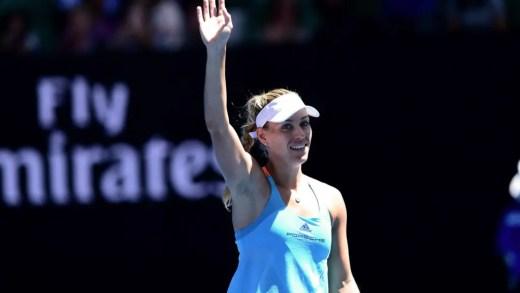 Angelique Kerber arrasa rumo aos oitavos-de-final do Open da Austrália