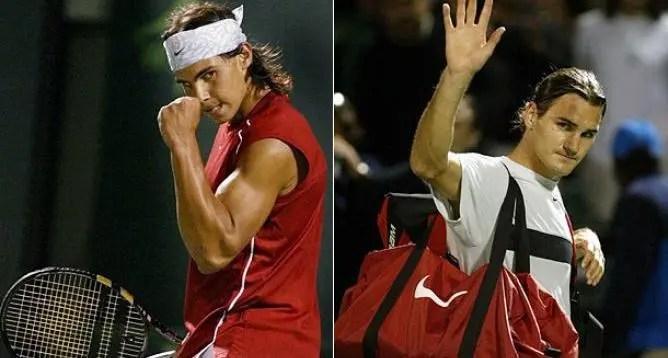 Como era o mundo quando Federer e Nadal se defrontaram pela primeira vez?