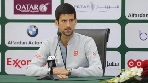 Djokovic desdramatiza início tremido: «Sabia que não estaria no meu melhor»