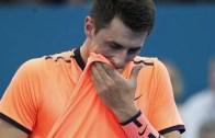 Sem jogar desde a polémica de Wimbledon, Tomic vai sair do top 100 na segunda-feira