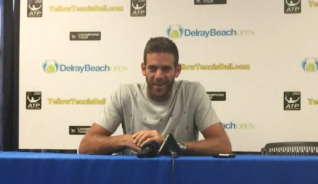«Acordei às 5 da manhã para ver a final do Open da Austrália», revela Del Potro