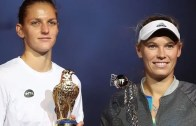 Pliskova despacha Wozniacki, conquista Doha e é cada vez mais a 3.ª melhor do Mundo
