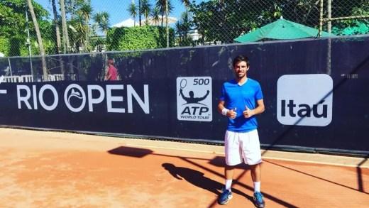 Gastão Elias vence no 'qualifying' de pares no Rio Open e fica a uma vitória de defrontar… João Sousa