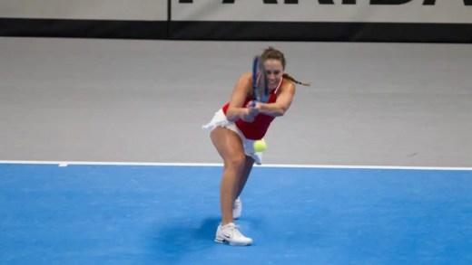 Aos 24 anos, Michelle já é a nova recordista portuguesa de vitórias na Fed Cup em singulares