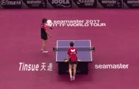 [VÍDEO] Inacreditável: duas jogadoras de ténis de mesa trocaram a bola 766 vezes durante 10 minutos