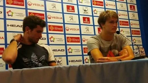 Sascha Zverev: «Ganhar dois títulos no mesmo dia não acontece muitas vezes»
