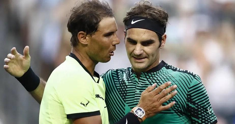 Nadal e Federer no top 2 do ranking ATP. Sabe há quanto tempo não acontecia?