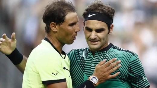Ranking ATP: Roger Federer e Rafael Nadal de regresso ao top-5