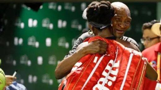 Venus Williams não esconde: «Ganhava só para ver a alegria, o orgulho e a emoção do meu pai»