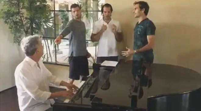 Os Backhand Boys voltam à ribalta e trazem Djokovic com eles