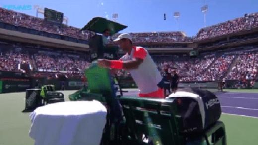 [Vídeo] Incomodado com o sol, Verdasco fez pedido bizarro ao árbitro