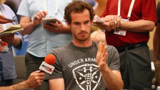 Andy Murray não acredita que Maria Sharapova tenha wild-cards para Roland Garros e Wimbledon