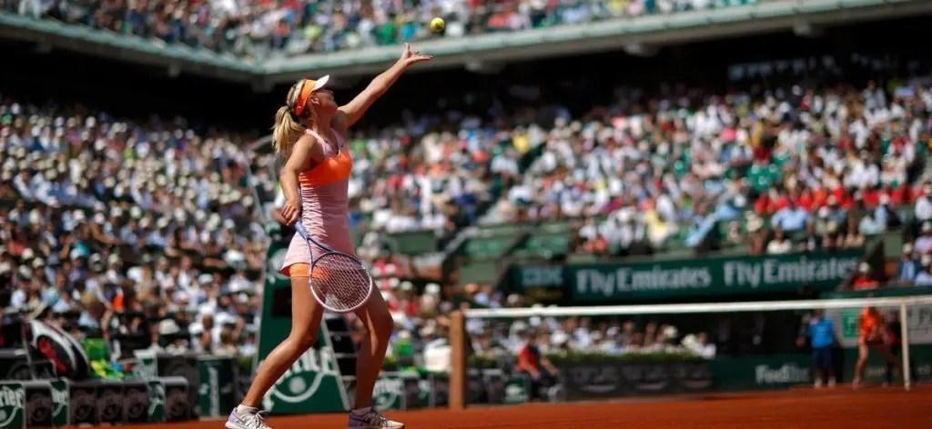 Ainda sem saber se vai ter wild card, Sharapova é a QUINTA favorita a ganhar Roland Garros nas casas de apostas