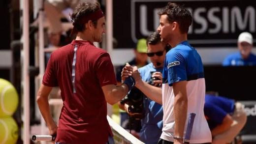 Thiem: «Federer número um? Espero que ele consiga!»