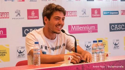 João Domingues persegue hoje o que só 10 tenistas portugueses alcançaram na história